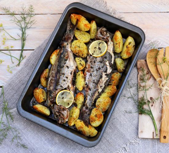 pescado horneado